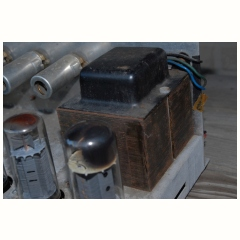 serial number in the 500s, output transformer