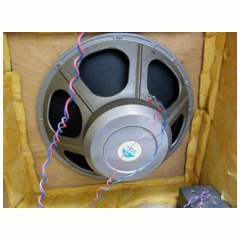 serial number 671, bass bin 18 inch Celestion driver