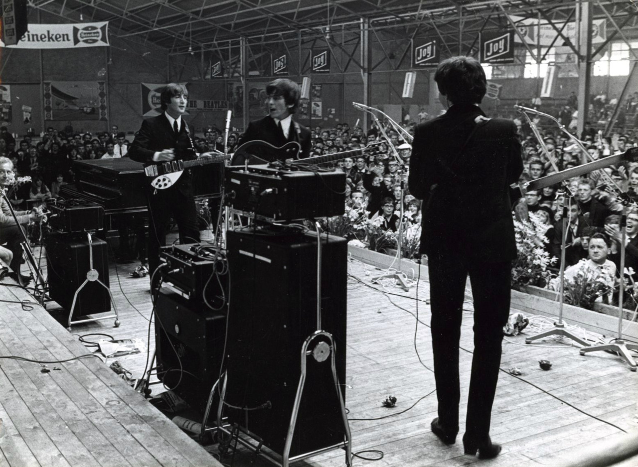 The Beatles, Blokker, Holland, June 1964