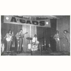 The A-Cads with Vox amps