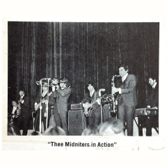 The Midniters with two Vox AC100s