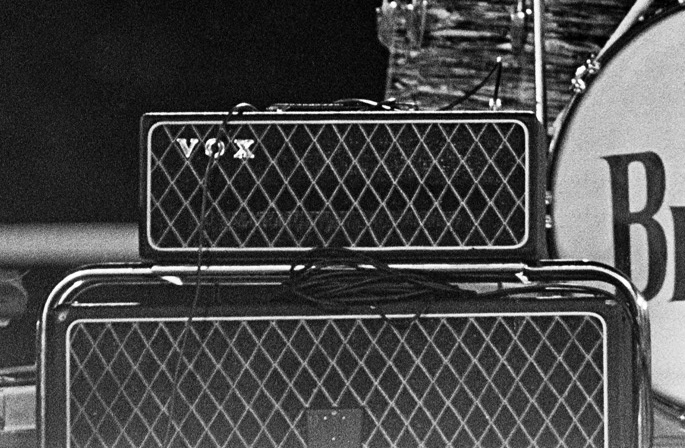 George Harrison's Vox AC100 SDL, New Orleans, 16 September, 1964