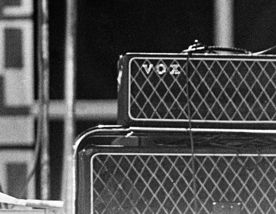 John Lennon's Vox AC100 SDL, New Orleans, 16 September, 1964