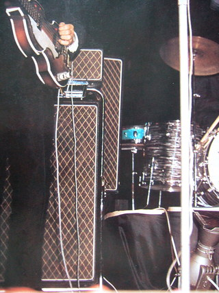 Paul McCartney's AC80/100 on stage in Australia, June 1964