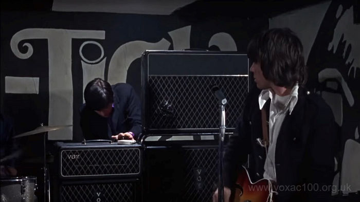 The Yardbirds with AC100s, 1966