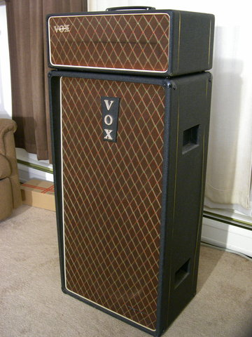 Vintage Vox AC80/100 (early AC100) covers