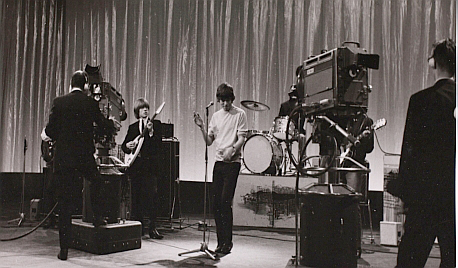 Rolling Stones, Brussels, 1964 with a Vox AC100 SDL
