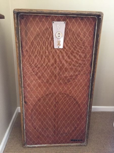 Early Vox Bass Speaker Cabinet from 1964