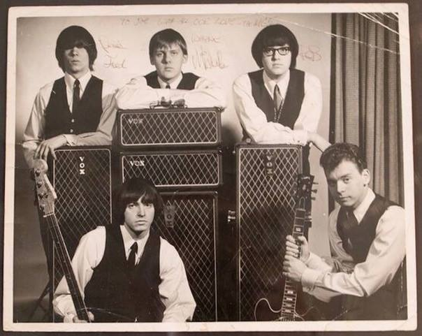 Gerry and the Pacemakers with Vox cabinets