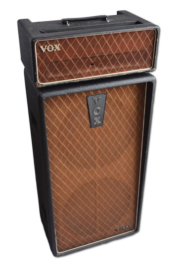 Vox AC100 serial no. 178 with a cab of similar date