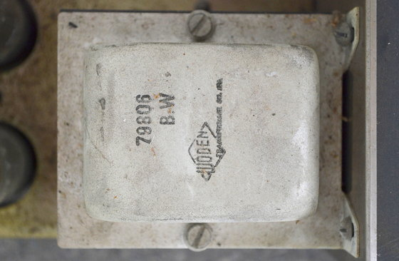 Vox AC80/100 serial number 392, Woden output transformer