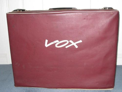 AC30, original red cover, cursive logo