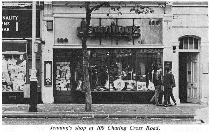 The Jennings Shop, 100 Charing Cross Road