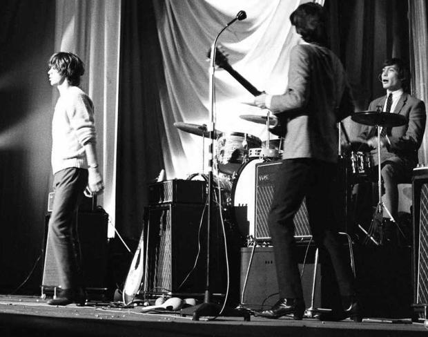The Stones at the ABC Cinema, Chester, September 1964