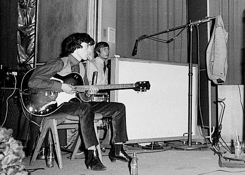 The Stones at the Playhouse Theatre, 31 October, 1964