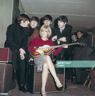 sylvie vartan and the beatles, olympia 1964