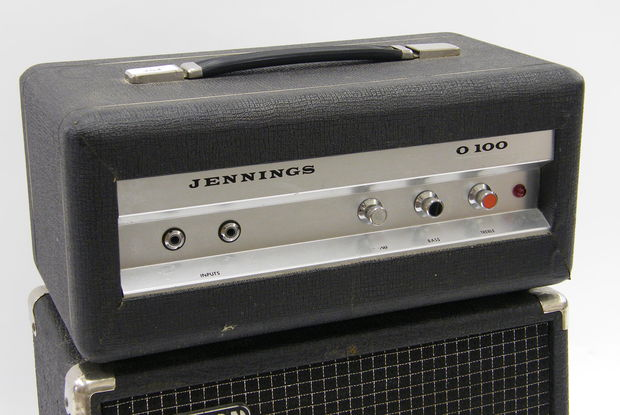 Jennings O100 organ amplifier