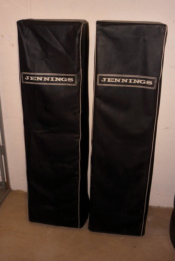 Jennings (JEI) public address speaker columns