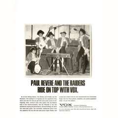 Paul Revere and the Raiders with AC100s