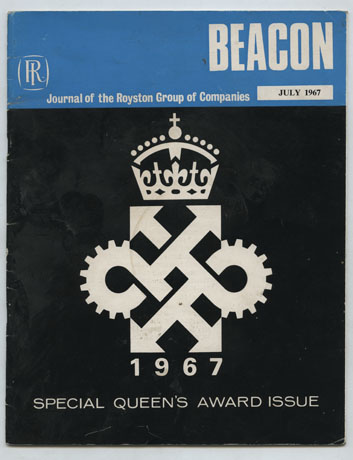 Beacon, Journal of the Royston Group, cover