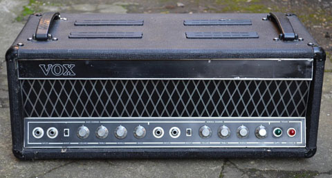 Vox 7-series amps website